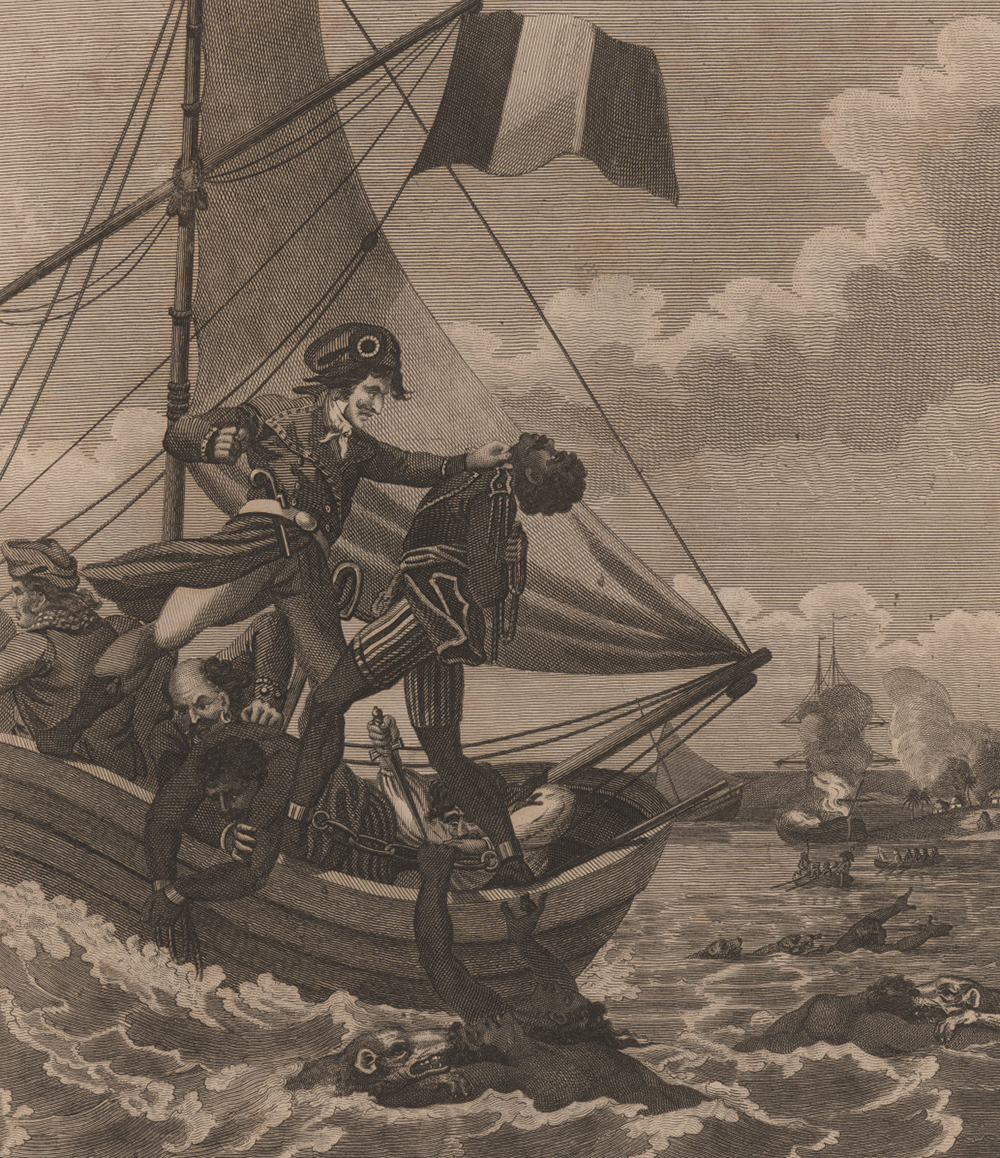 """Illustration from """"An Historical Account of the Black Empire of Hayti,"""" by Marcus Rainford, 1805."""