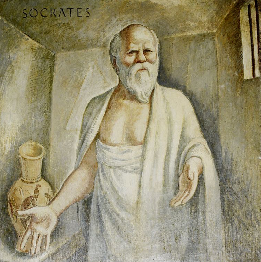 Socrates, by Boardman Robinson, 1937. Photograph by Carol M. Highsmith. Library of Congress, Prints and Photographs Division.
