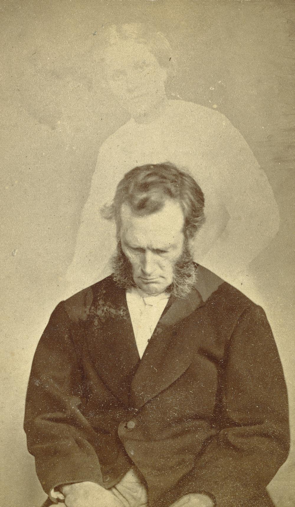 Bronson Murray, by William H. Mumler, c. 1862.
