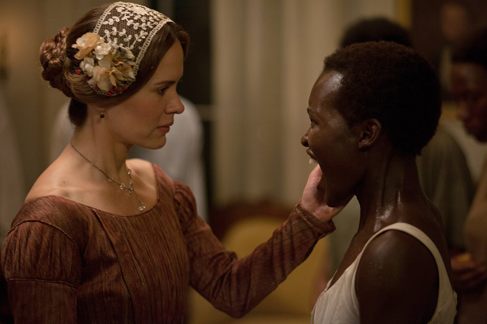 """Sarah Paulson and Lupita Nyong'o in """"12 Years a Slave"""" (2013). Photograph by Francois Duhamel / Fox Searchlight Pictures."""