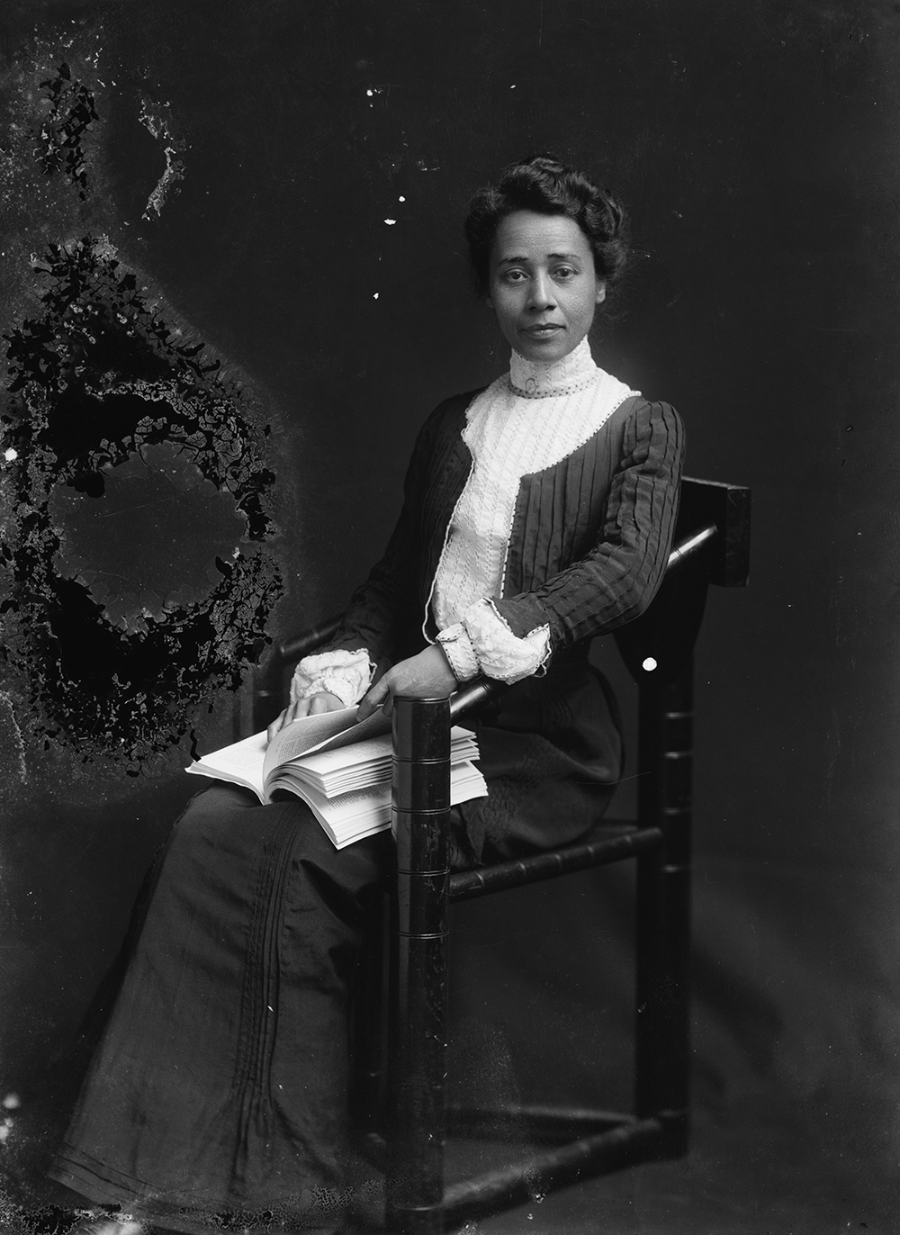 Anna Julia Cooper, c. 1901. Photograph by C.M. Bell. Library of Congress, Prints and Photographs Division.
