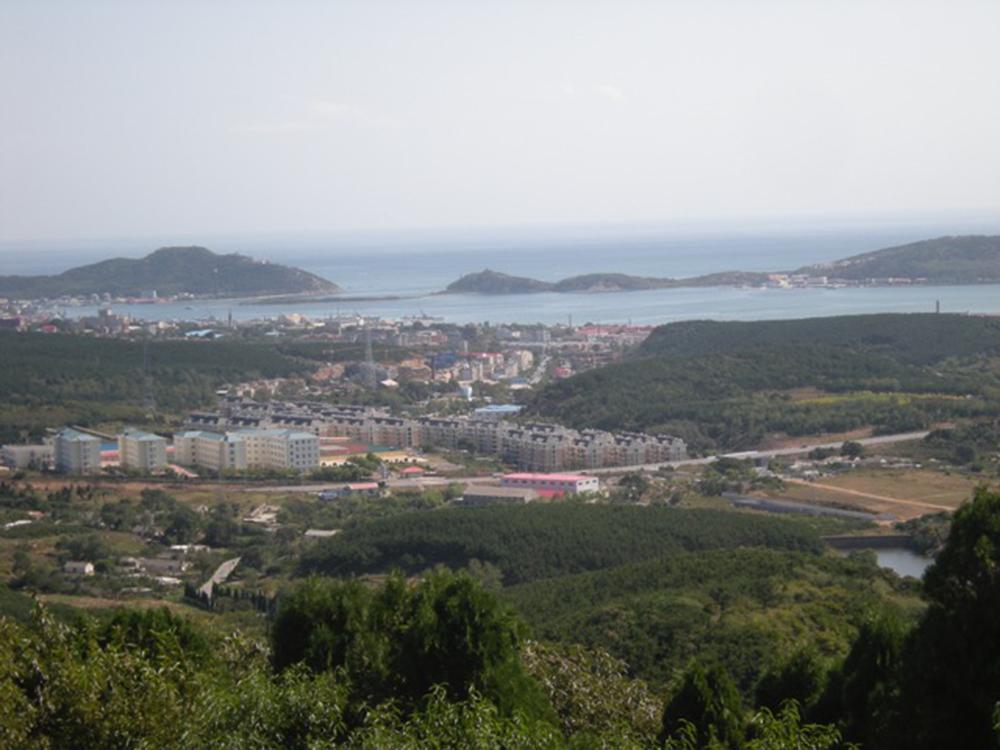 The inner harbor of Port Arthur as seen from 203 Meter Hill. Photograph by Matthew Stevenson.