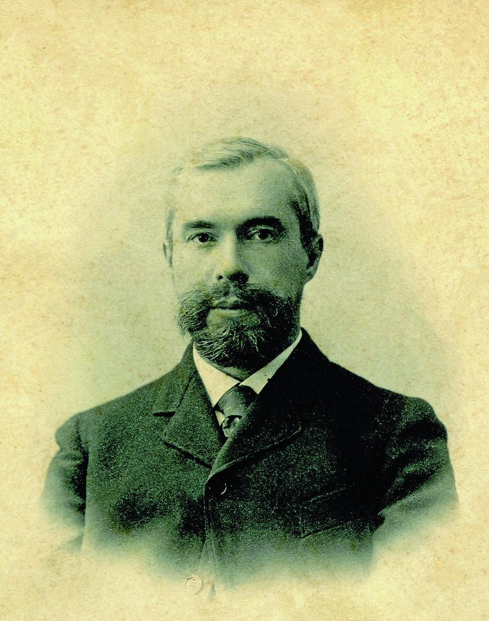 Photograph of Sergei Shchukin, c. 1890. Courtesy of Collection Chtchoukine.