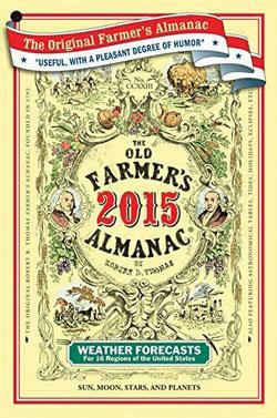 Cover of the 2015 Old Farmer's Almanac.