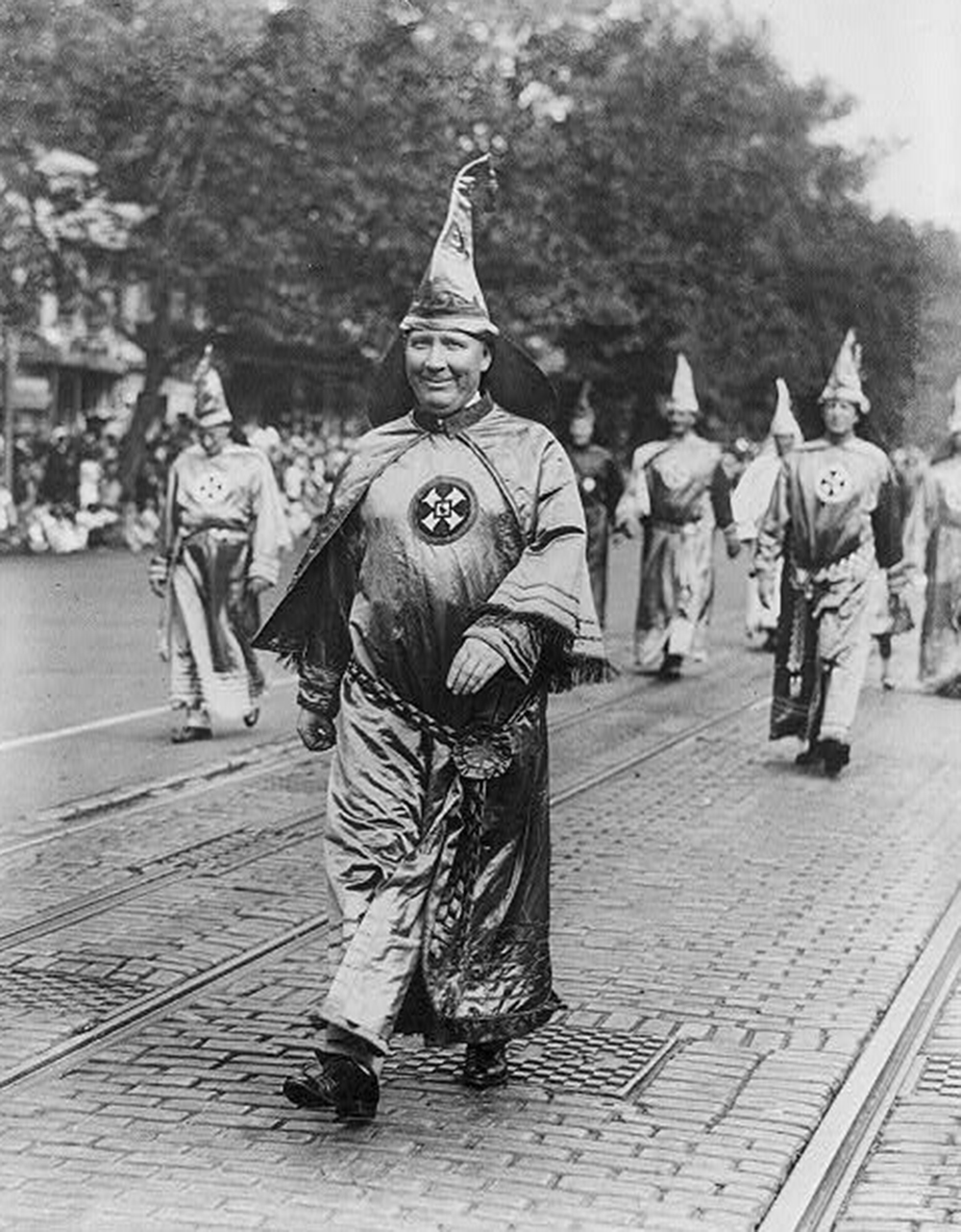 Dr. H.W. Evans, Imperial Wizard of the Ku Klux Klan, 1926. Library of Congress, Prints and Photographs Division.