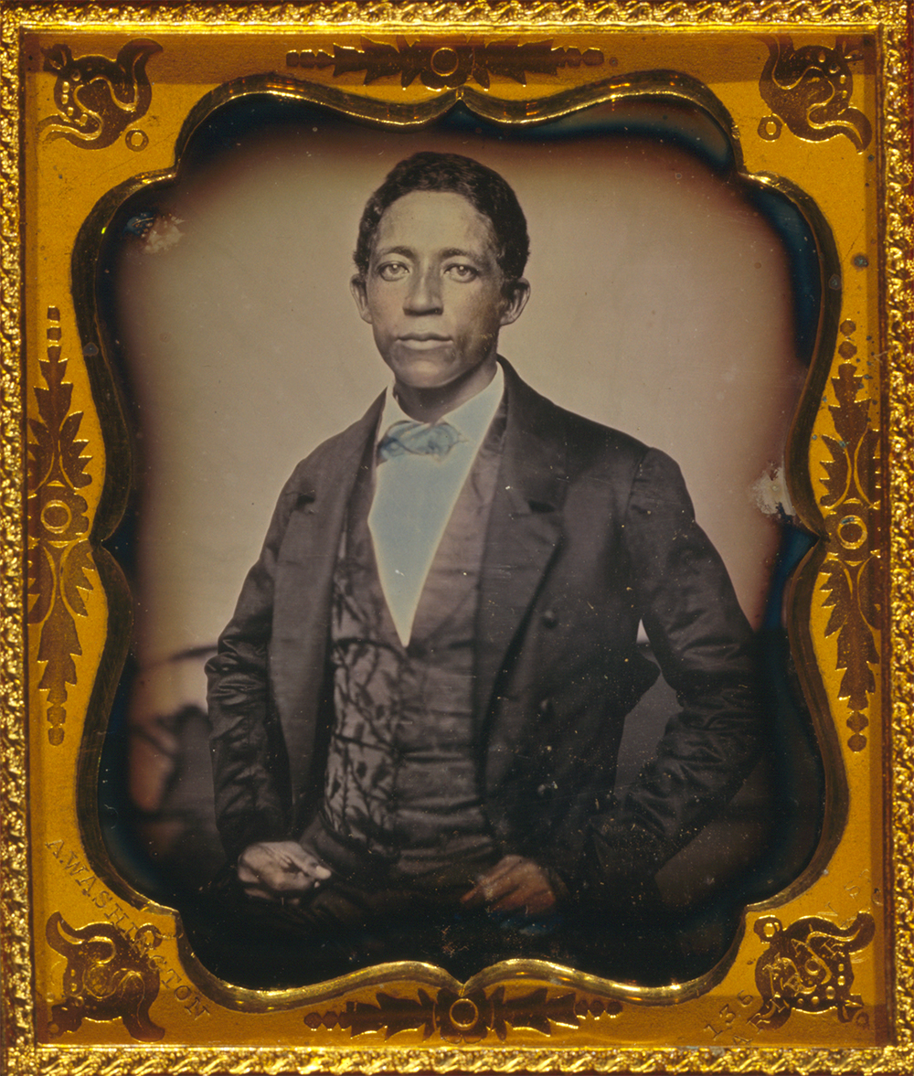 Urias A. McGill, c. 1854. Photograph by Augustus Washington. Library of Congress, Prints and Photographs Division.