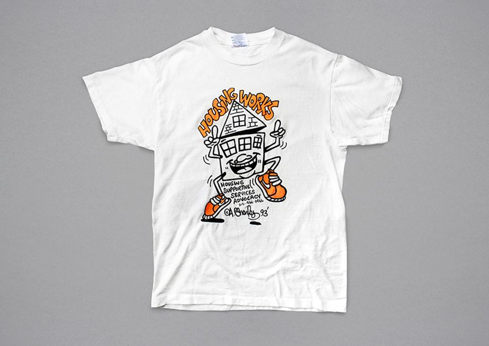 Artist Andre Charles' 1993 T-shirt illustration.