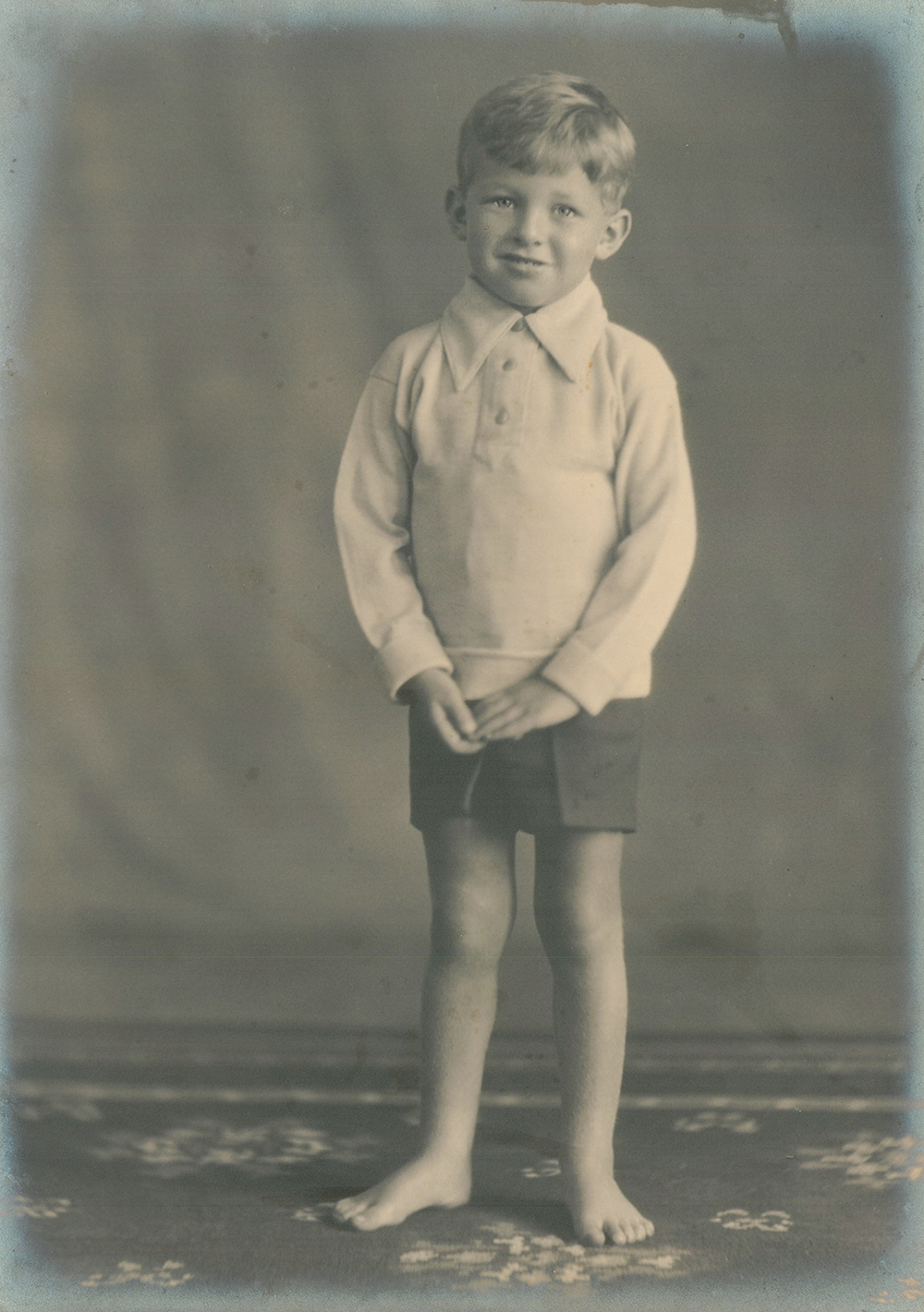 Sylvester Stein, age six. Courtesy of Sarah Cawkwell.