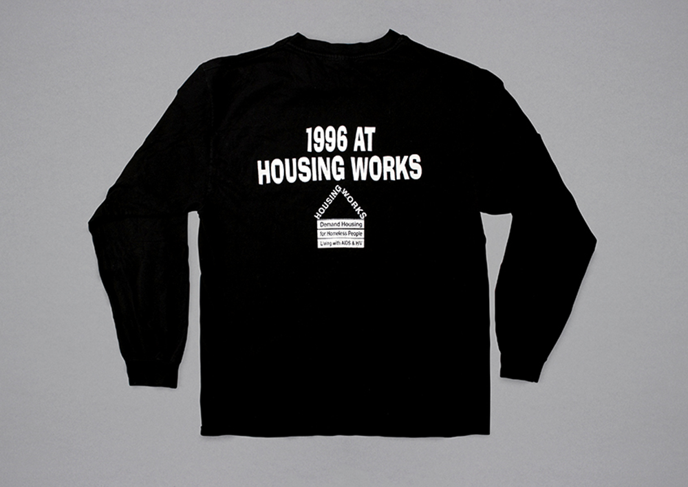 Back of the 1996 sweatshirt.