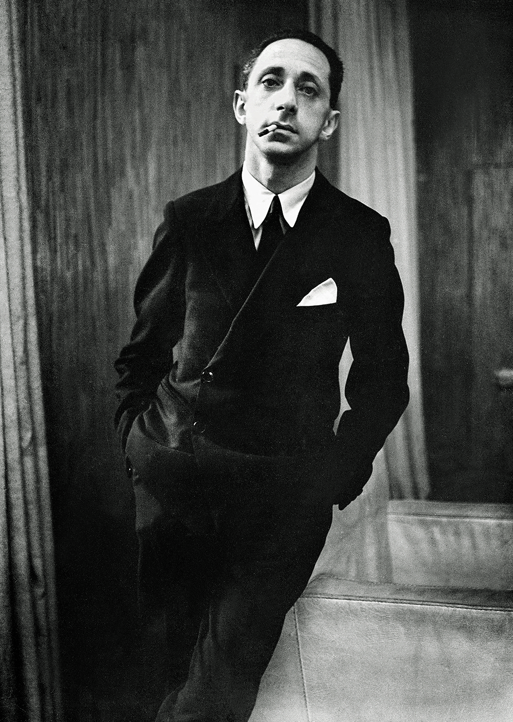 Photograph of Jean-Michel Frank by Rogi André, c. 1935.