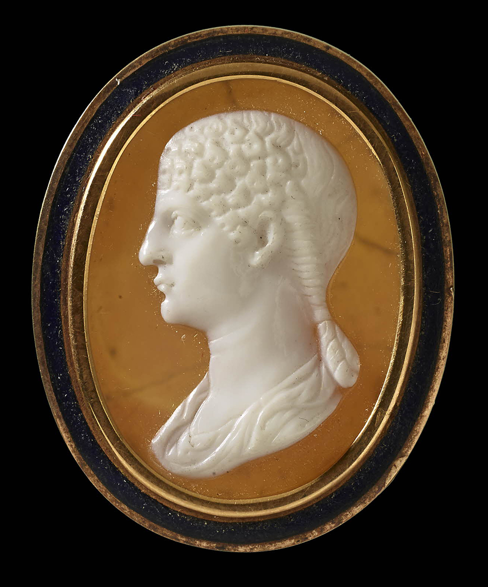Cameo of Agrippina, c. 57. © The Trustees of the British Museum.