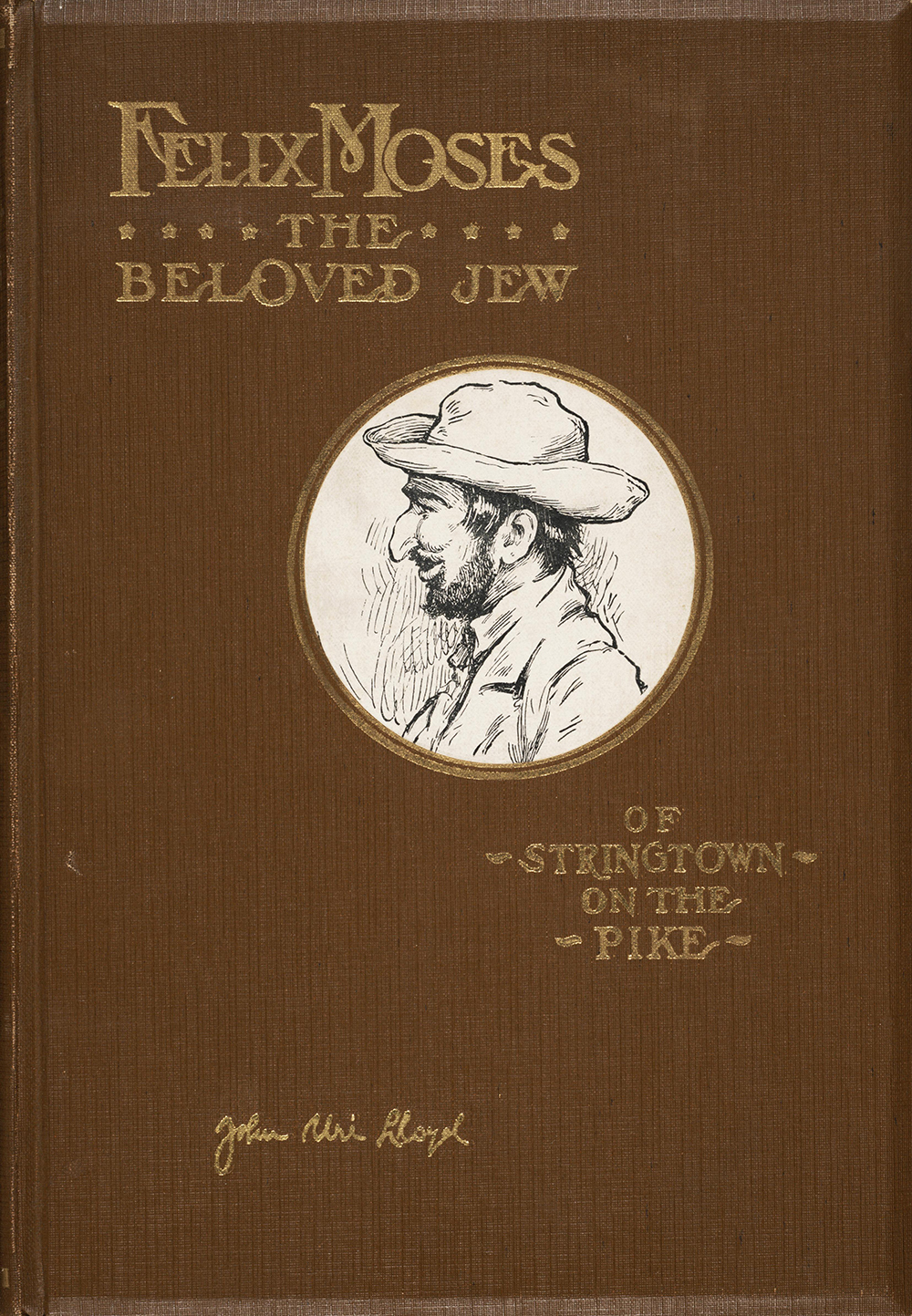 Cover of the 1930 edition of Felix Moses.