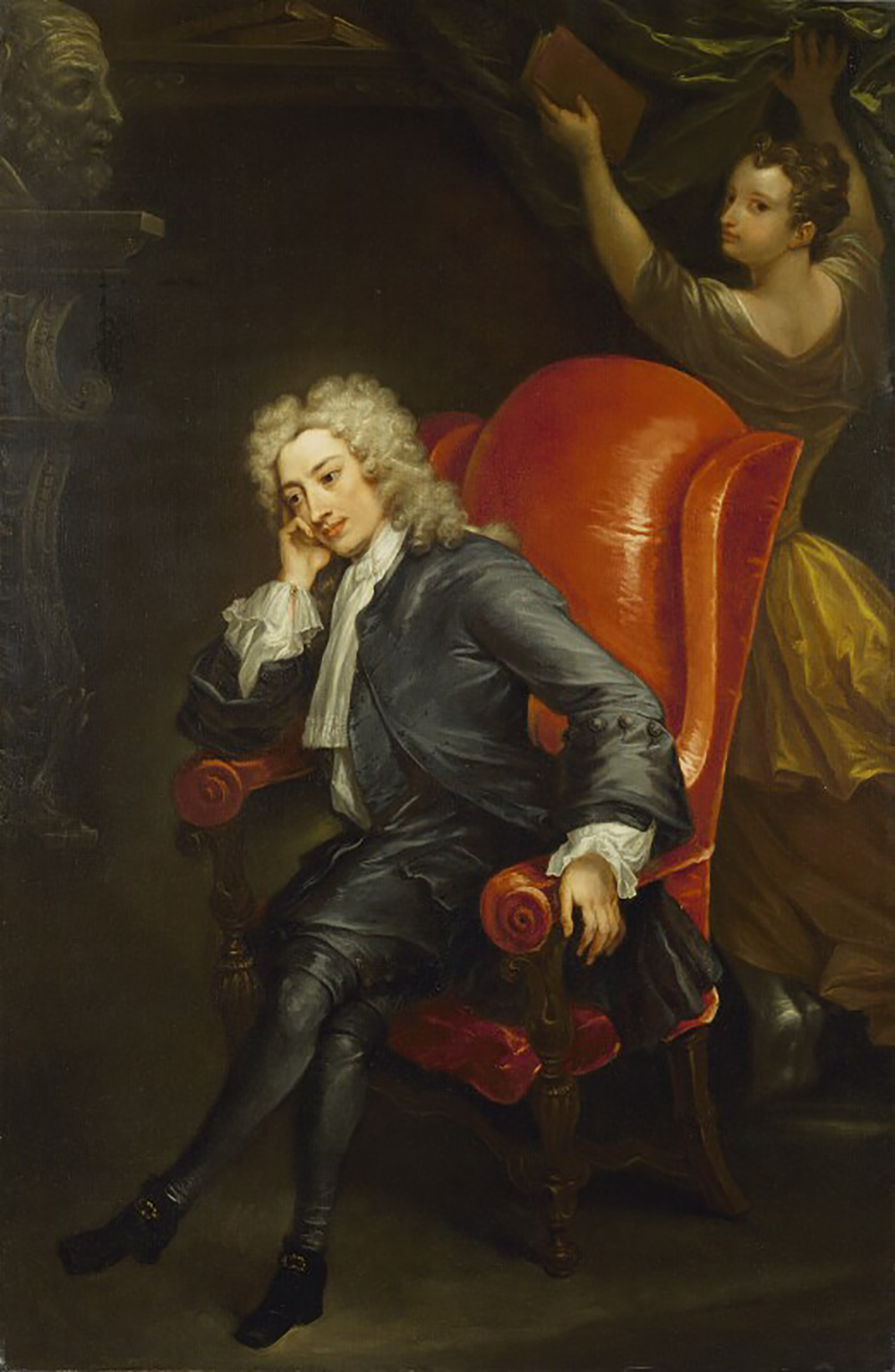 Alexander Pope, attributed to Charles Jervas, c. 1713.