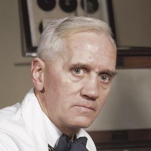 A photograph of Alexander Fleming