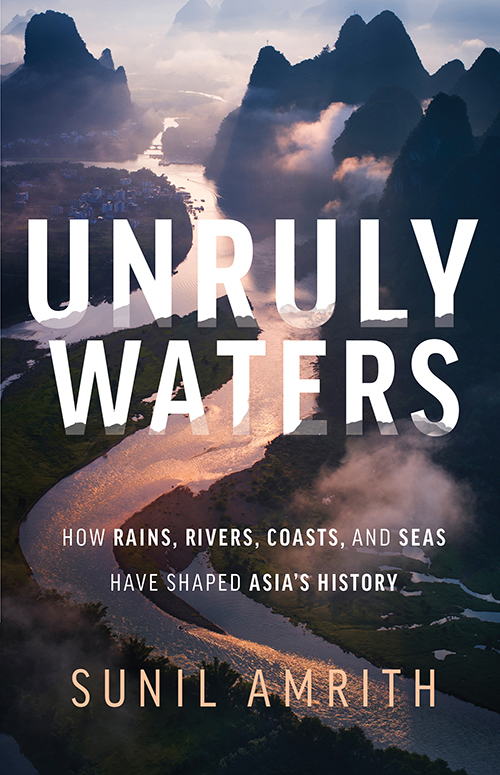 cover of Unruly Waters by Sunil Amrith