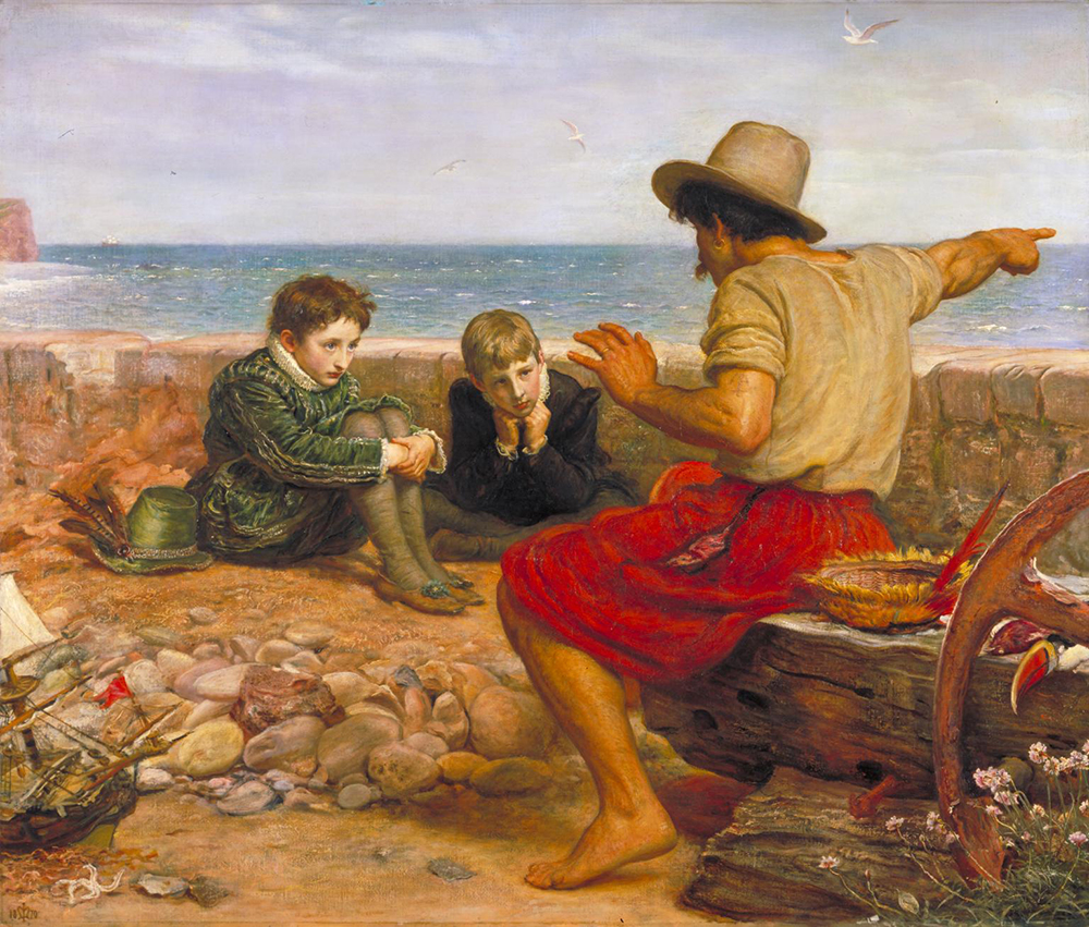 The Boyhood of Raleigh, by John Everett Millais, 1870. Photograph © Tate (CC-BY-NC-ND 3.0).