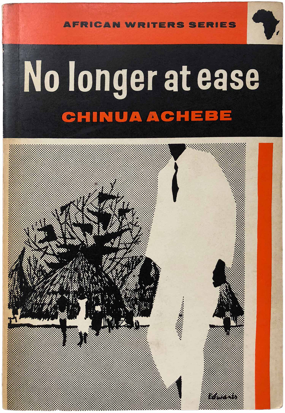 """No Longer at Ease,"" by Chinua Achebe (AWS 3, 1962)."