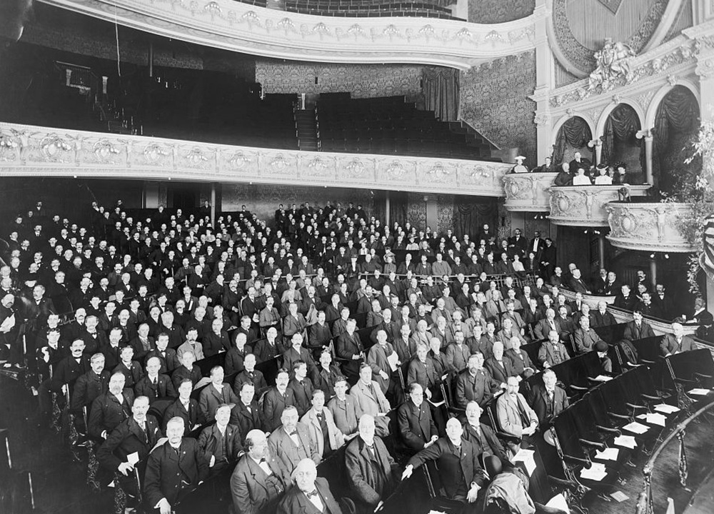 American Bankers Association Convention, 1901. Library of Congress, Prints and Photographs Division.