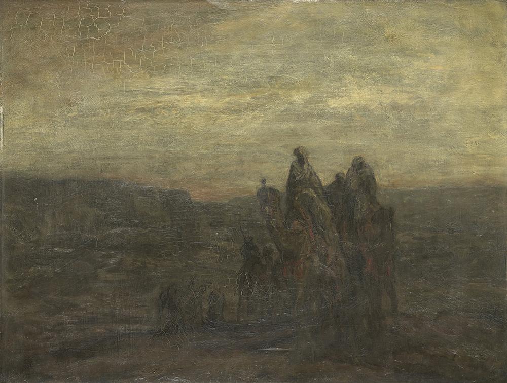 Caravan, by Martin Bauer, c. 1877–1903. Rijksmuseum, Mr. and Mrs. Drucker-Fraser Bequest, Montreux.