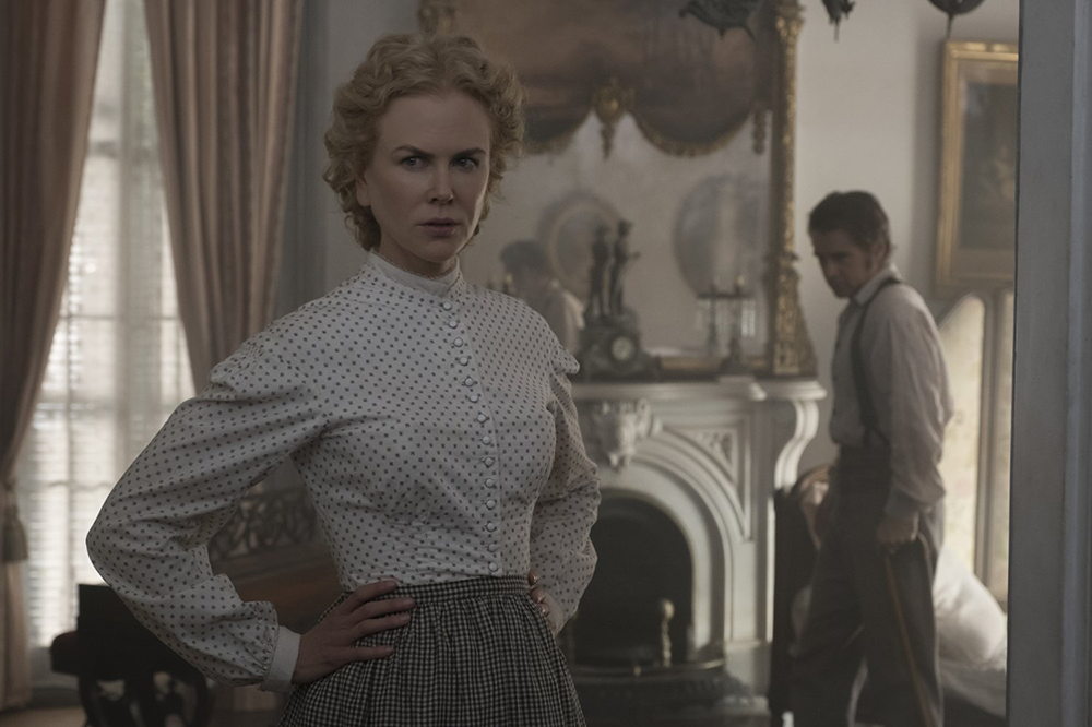 """Nicole Kidman and Colin Farrell in """"The Beguiled"""" (2017). Photograph by Ben Rothstein / Focus Features."""