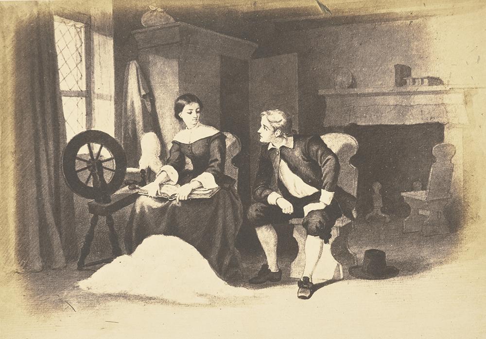 """The Ambassador,"" by Matthew B. Brady, 1859. Digital image courtesy of the Getty's Open Content Program."
