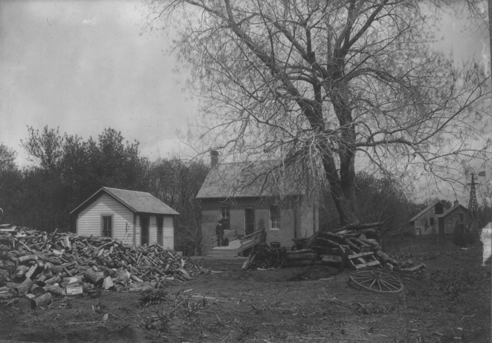 The first homestead in the United States, 1904. Library of Congress, Prints and Photographs Division.