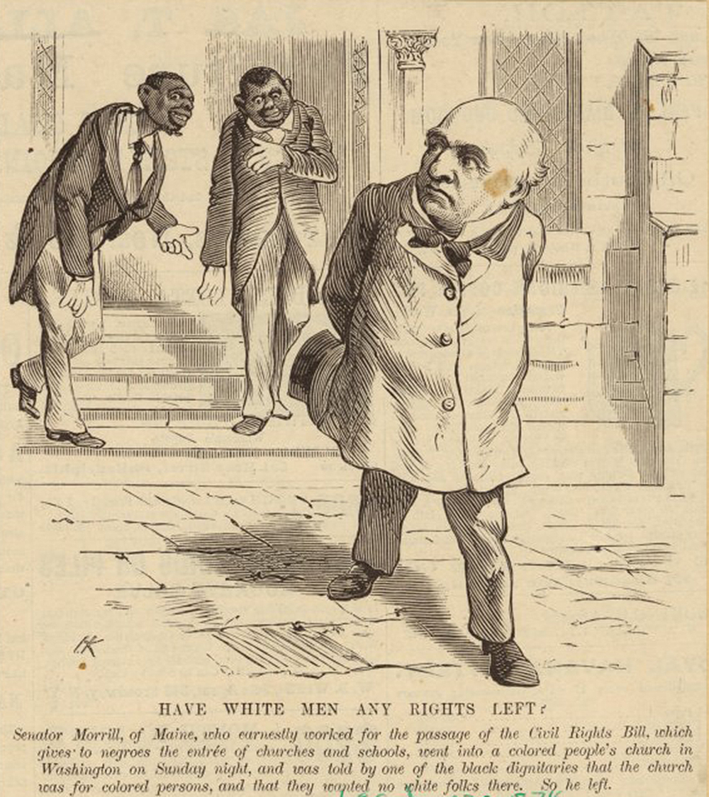 Have White Men Any Rights Left?, 1875. The New York Public Library, The Miriam and Ira D. Wallach Division of Art, Prints and Photographs.