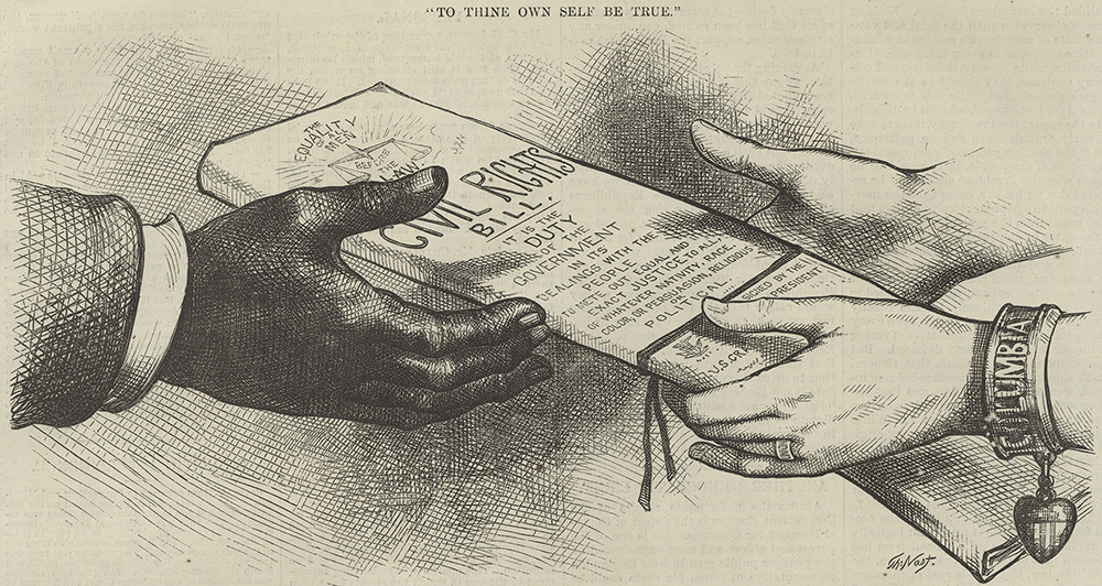 To Thine Own Self Be True, from Harper's Weekly, 1875. The New York Public Library, General Research Division.