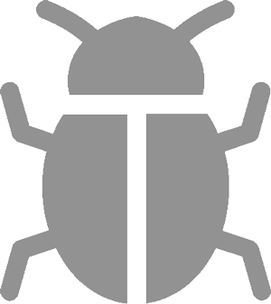 A drawing of a beetle-like insect.