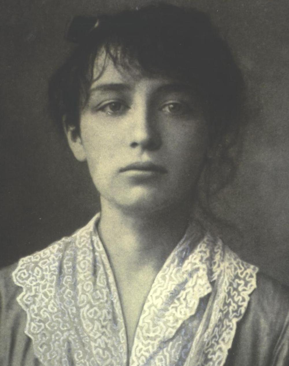 Camille Claudel, c. 1884.