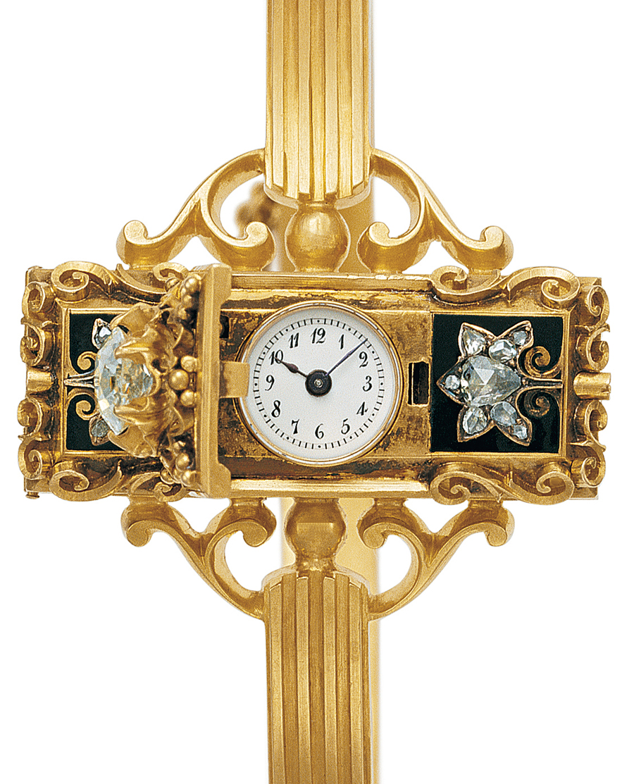 Watch for Countess Koscowicz of Hungary, by Patek Philippe, 1868.