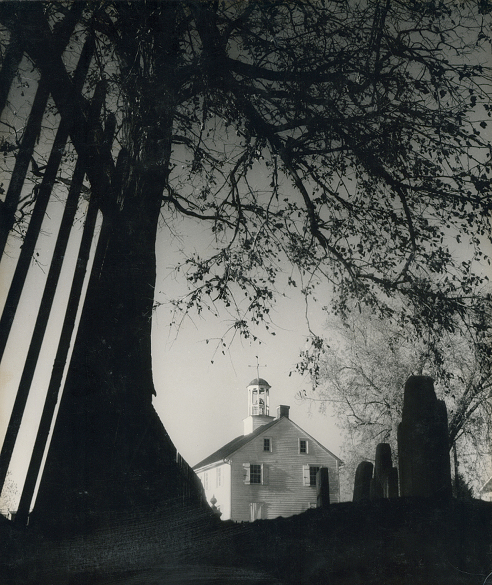 Cemetery and Church, by Kosti Ruohomaa, mid-twentieth century. National Museum of American History.