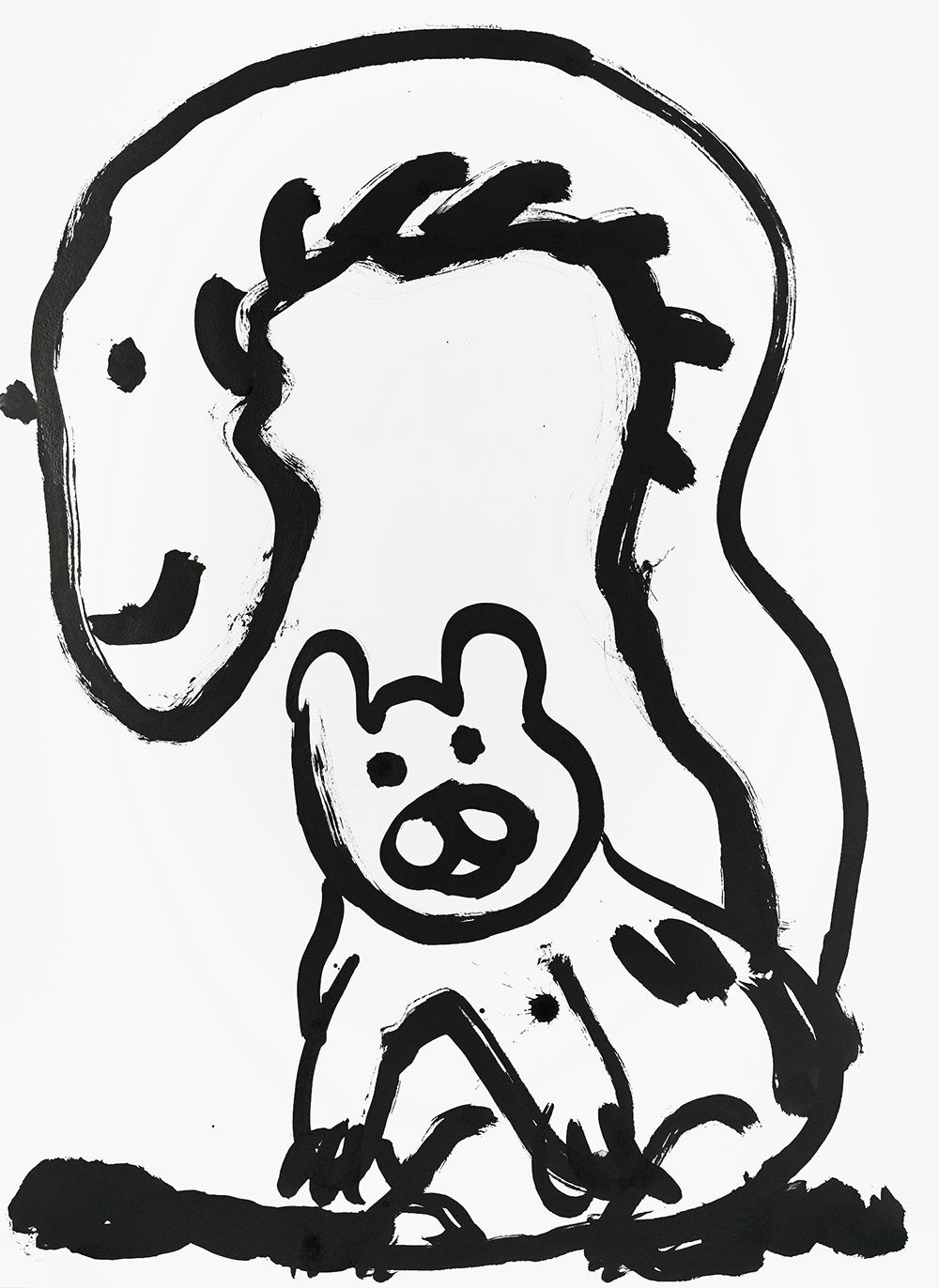 das Eichhörnchen, Eichkätzchen (squirrel, oak kitten), by Paul Chan, 2020