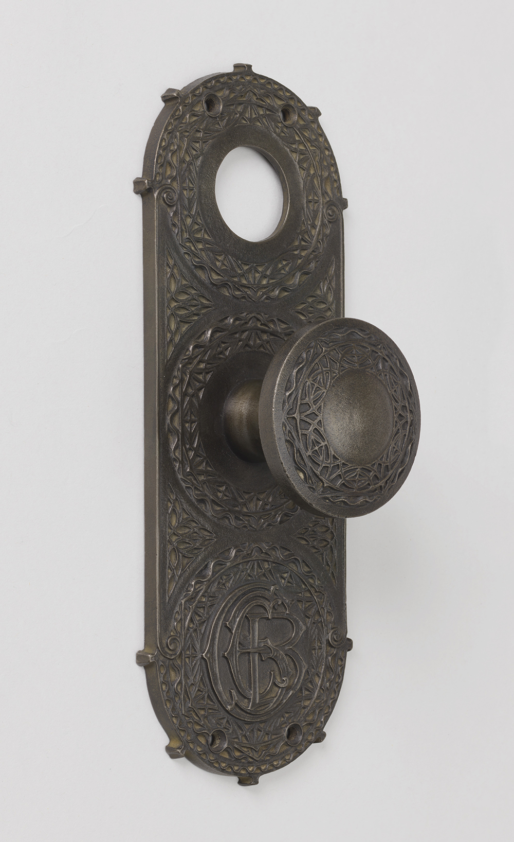 Doorplate by Louis Sullivan, c. 1895.