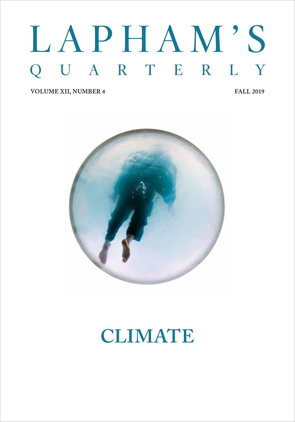 Cover of Climate, the Fall 2019 issue of Lapham's Quarterly.