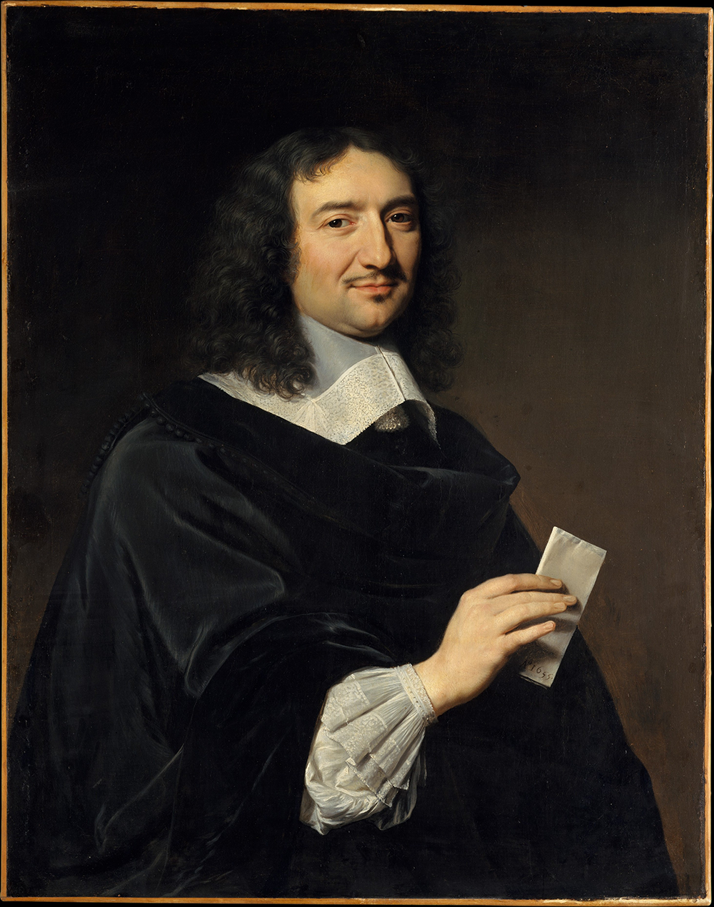 Jean-Baptiste Colbert (1619–1683), by Philippe de Champaigne, 1655. The Metropolitan Museum of Art, Gift of The Wildenstein Foundation Inc., 1951.
