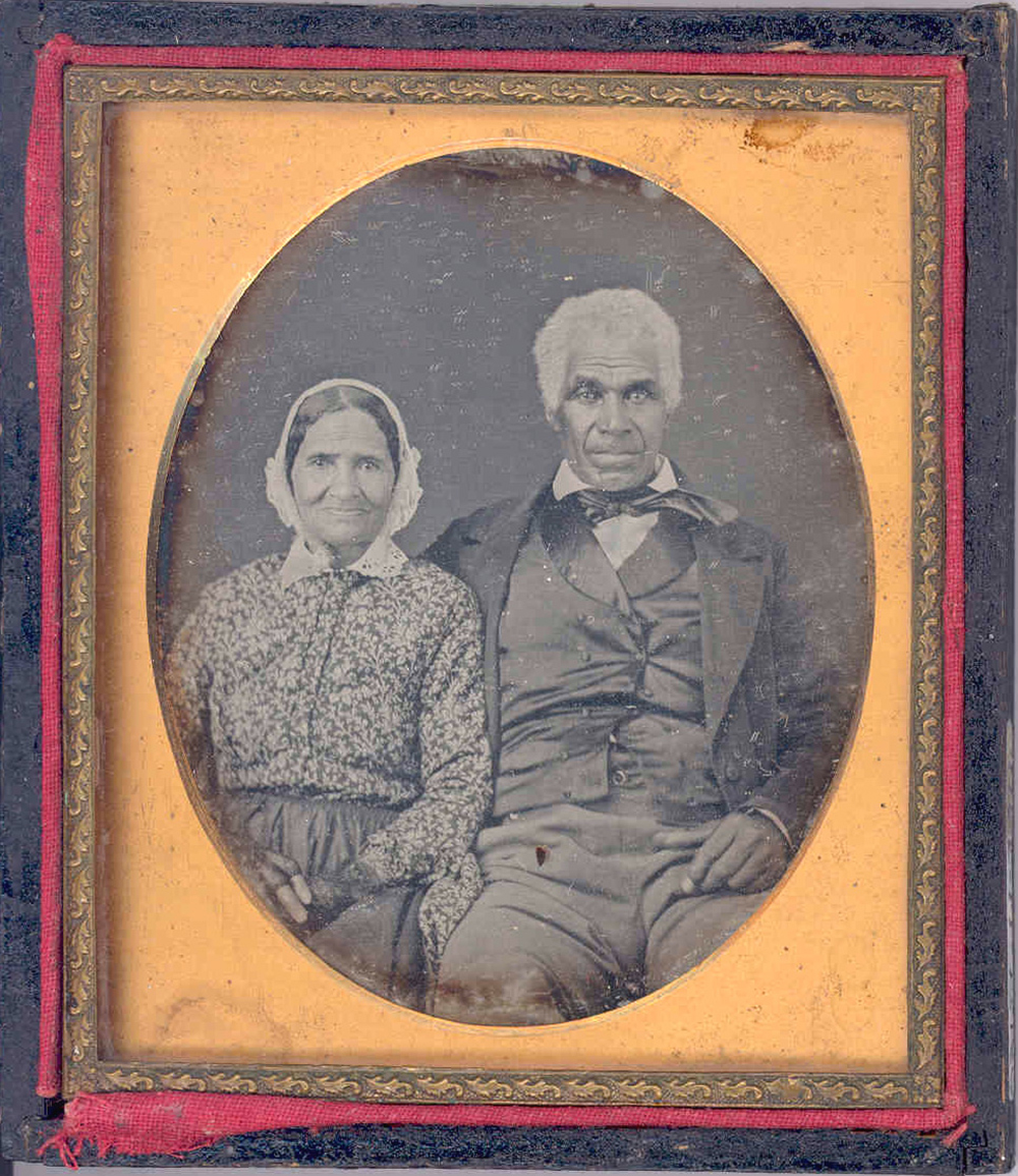 Enoch and Deborah Harris, c. 1860. Courtesy of the Kalamazoo Valley Museum.