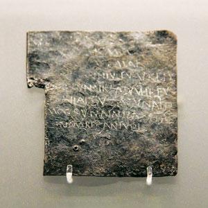 A curse tablet