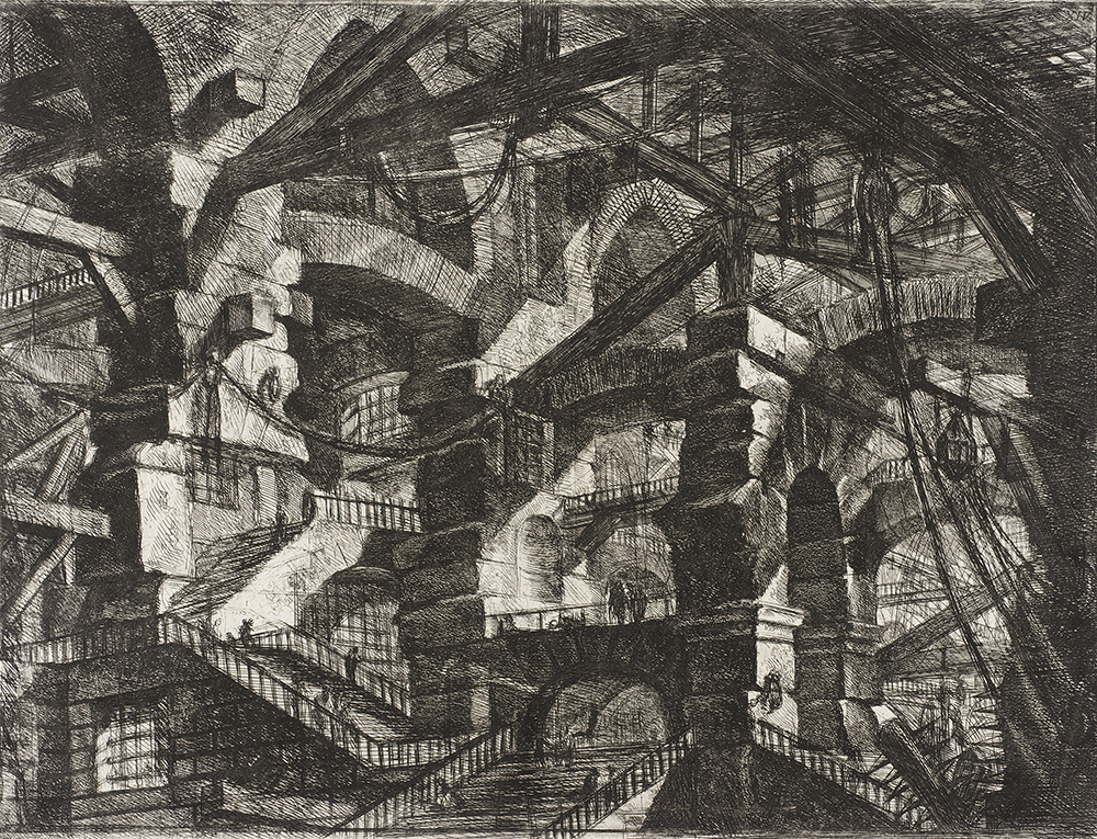 The Gothic Arch, by Giovanni Battista Piranesi, 1761. Los Angeles County Museum of Art, William Randolph Hearst Collection.
