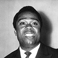 Black-and-white photograph of David Dacko