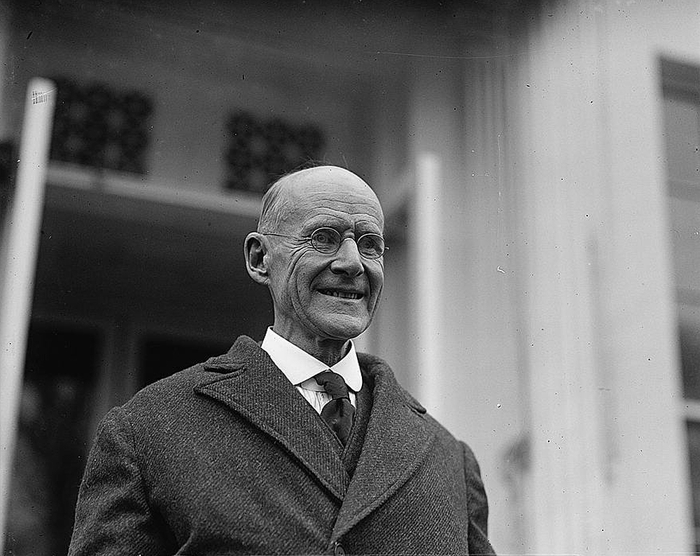 Eugene Debs, c. 1921. Library of Congress, Prints and Photographs.