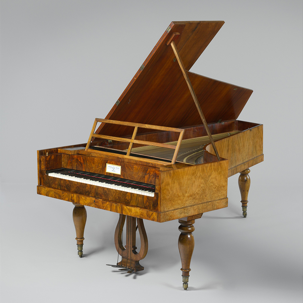 Fortepiano made by Conrad Graf, c. 1838. The Metropolitan Museum of Art, Purchase, Amati Gifts, in memory of Frederick P. Rose, 2001.