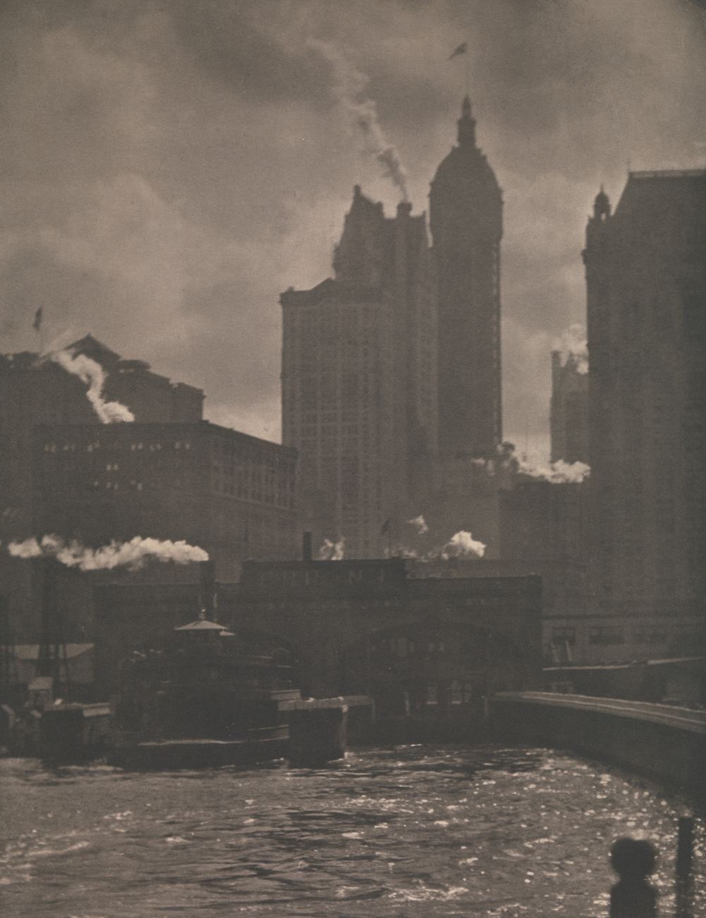 """The City of Ambitions,"" 1910. Photograph by Alfred Stieglitz. The Metropolitan Museum of Art, Alfred Stieglitz Collection, 1949."