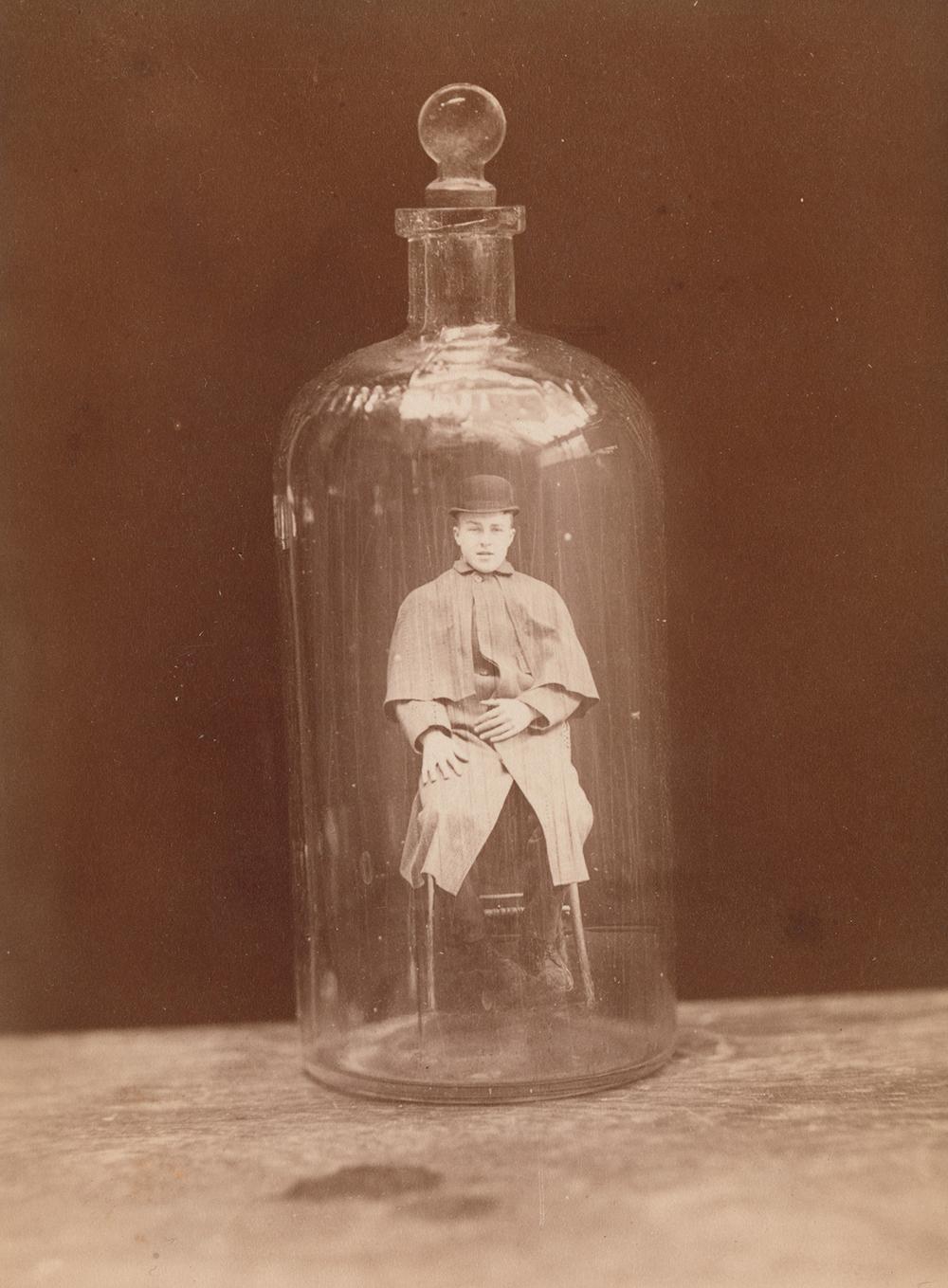 Man in Bottle, by John C. Higgins, c. 1888.