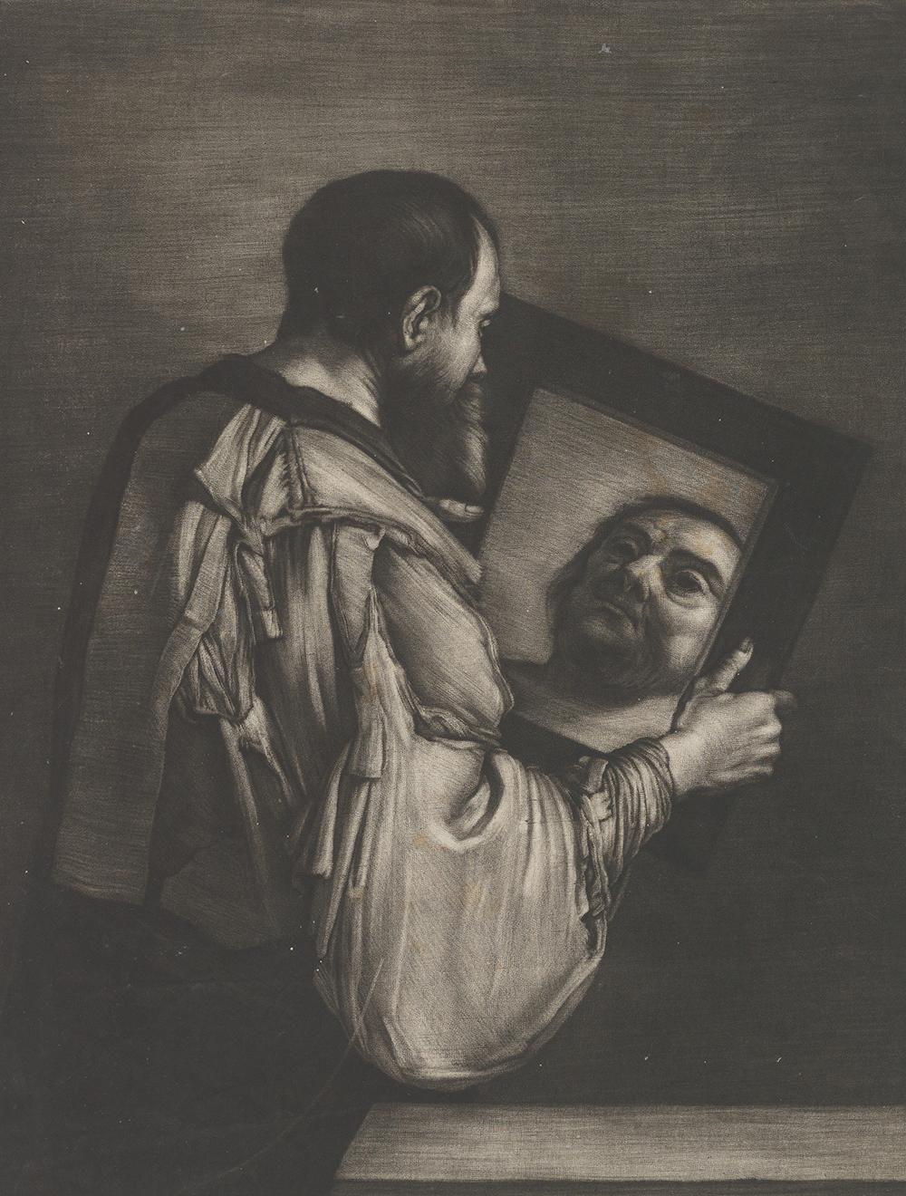 """Socrates Looking in a Mirror,"" by Bernard Vaillant, c. 1650. The Metropolitan Museum of Art, A. Hyatt Mayor Purchase Fund, Marjorie Phelps Starr Bequest, 1982."