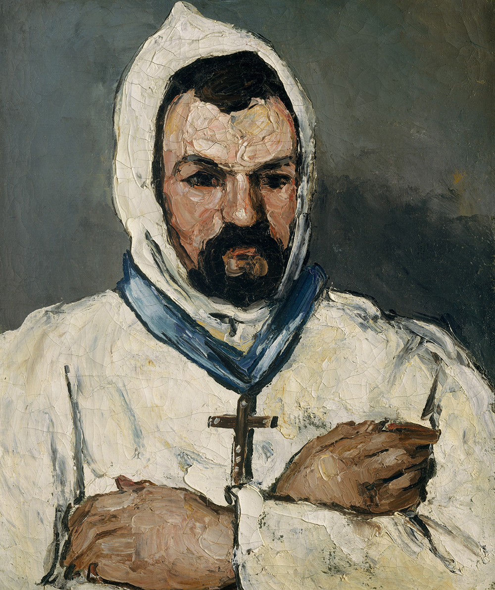 """The Artist's Uncle, as a Monk,"" by Paul Cézanne, 1866. The Metropolitan Museum of Art, The Walter H. and Leonore Annenberg Collection, Gift of Walter H. and Leonore Annenberg, 1993, Bequest of Walter H. Annenberg, 2002."