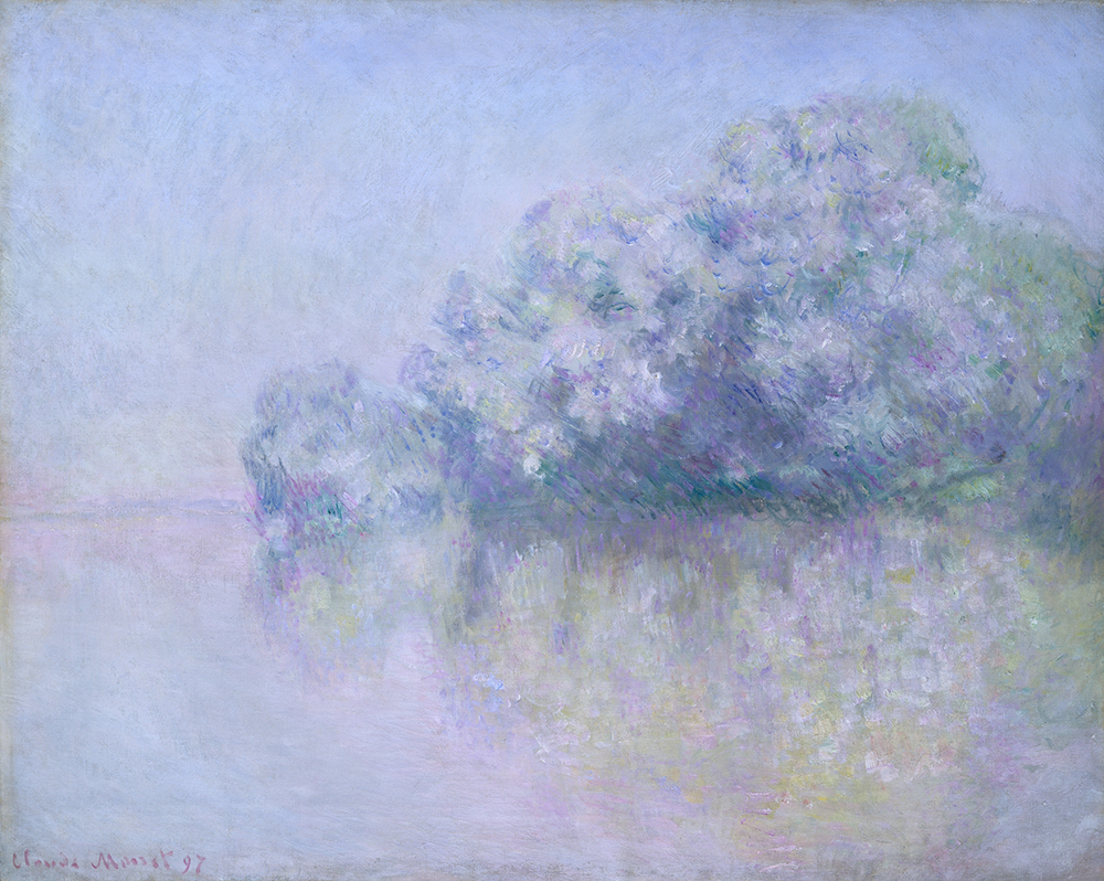 """Île aux Orties near Vernon,"" by Claude Monet, 1897. The Metropolitan Museum of Art, Gift of Mr. and Mrs. Charles S. McVeigh, 1960."