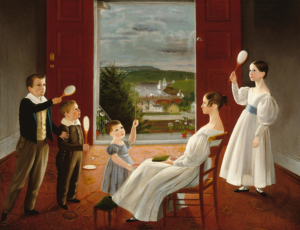 """The Children of Nathan Starr,"" by Ambrose Andrews, 1835. The Metropolitan Museum of Art, Gift of Nina Howell Starr, in memory of Nathan Comfort Starr (1896–1981), 1987."