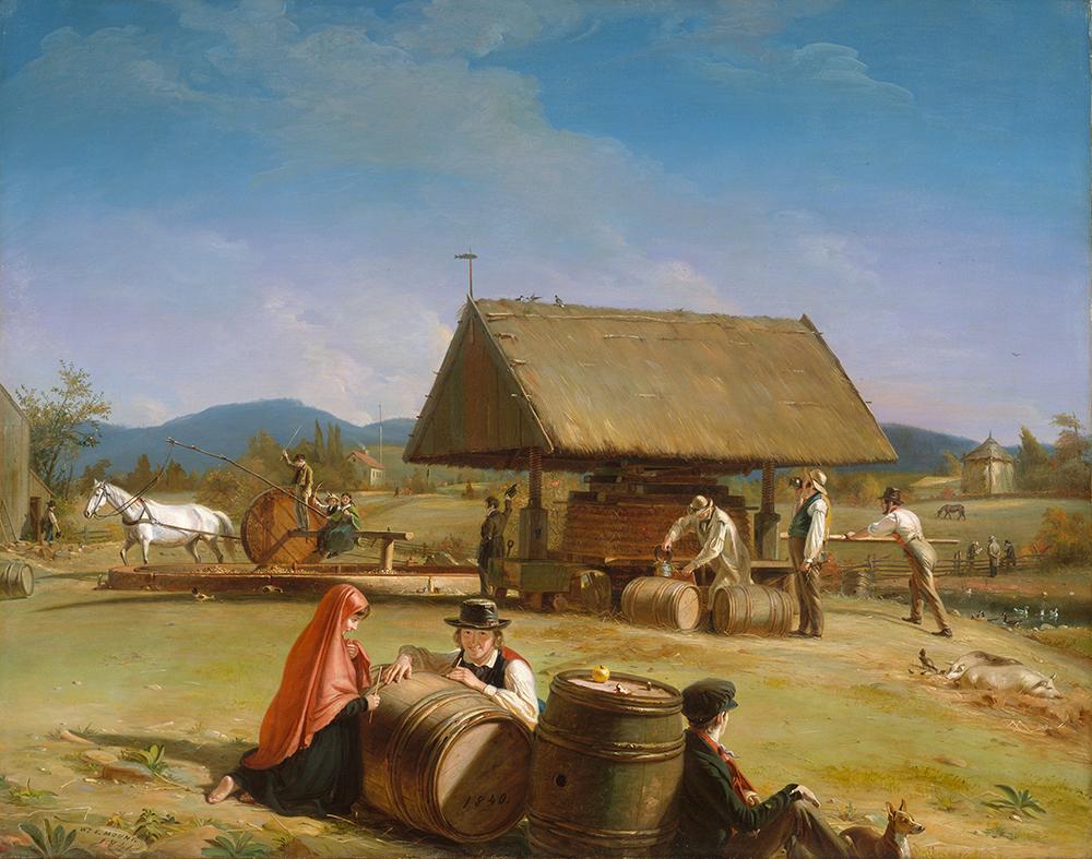 Cider Making, by William Sidney Mount, c. 1840.