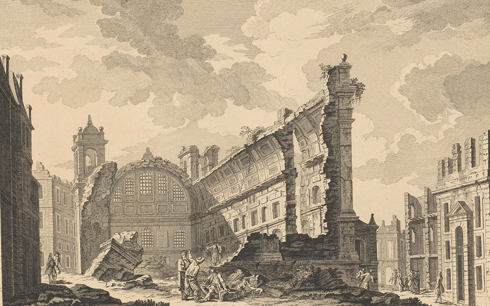 Ruins of Lisbon as Appeared Immediately after the Earthquake and Fire, c. 1760. Rijksmuseum.